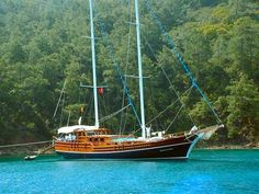 The traditional #gulet has been transformed to offer a 5-star #yacht cruise in Turkey.