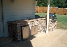 Outdoor Kitchen Patio Atlanta Outdoor Living #outdoor_living