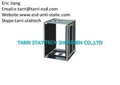 Anti Static 50 pcs PCB Storage Racks Metal 400×460×563 mm Gear Track Adjust
