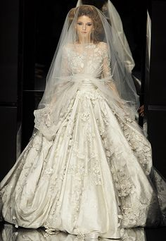 Elie Saab from 2009. This dress is like a dream in a dress. I love Elie Saab.