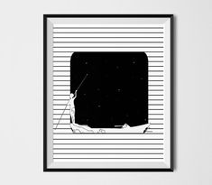fisherman Illustration line art Print Fisherman by shooshles #lineart #inkart #blackandwhite #art #inspiration #minimalist #fisherman #drawing minimalism #illustration #poster #sea #boat #blackink