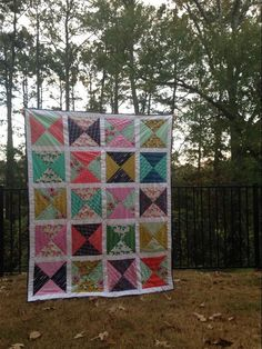 Check out Twin size hour glass quilt by member jesusdanc100008963739929. Finished with techniques from Quilting Big Projects on a Small Machine on Craftsy.