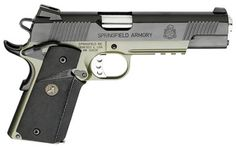 A beautiful, factory-custom take on the revered 1911. Thank you, Springfield Armory!