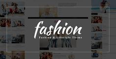 Fashion Blog - PSD Template . Fashion Blog PSD Template is a comprehensive template for widespread use. It will works good as a News Website, or in categories like: Fashion, Sport, Design, Games Themes, Games and Tech Magazine or Blog. Contains everything you should include magazine page Each PSD file is layered and contains an