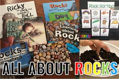 Do you know how much Rocks Rock? Use these ideas and printables to make your unit on rocks, soil, and earth's materials into perfection for little learners.