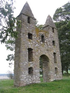 Hundy Mundy folly, Mellerstain What a great place for a wedding ceremony!