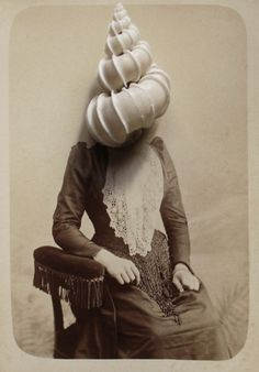 Super inspired! The French artistIris Legendre realized a very intriguing series called Photographies. Irisplanted pins, needles and nails on old family portraits. She wanted to recreatea sort o...