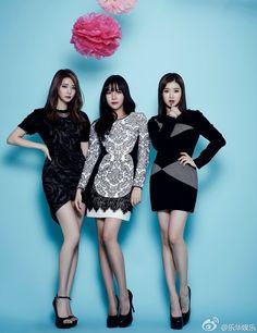 #AfterSchool Ka Eun, Raina and Eyoung - Ceci Magazine January Issue '14