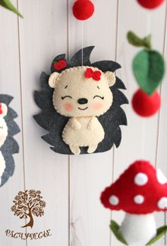 hedgehog felt
