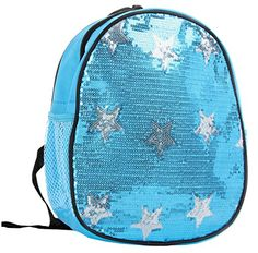 Dance Bag- Solid Sequin Front With Stars Backpack - Aqua Princess http://www.amazon.com/dp/B00NI9Z5FK/ref=cm_sw_r_pi_dp_mbFjvb0626TAZ
