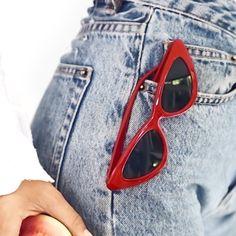 Featuring - Dovile RF3 sunglasses . . . #Specscart #AFrameForEveryGame #eyewearbrand #essentialstyle #eyewearinspiration #eyewearboutique #basicstyles #eyewears #minimal_mood #eyewearstore #simplestyles #eyewearcollection #simplestyleyourspace #eyeweartrend #eyewearlove #simplestylefashion #essentialsforliving #basicshoot #eyewearaddict #essentialstore #eyewearstylist Sunglasses Store, Cat Eye Sunglasses, Prescription Sunglasses Online, Eyewear Trends, Simple Style, Sunnies, Trendy Fashion, Cool Designs, Minimal