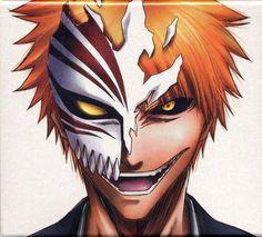 Anime Bleach Ichigo Hollow Mask Read High Quality Bleach Manga on MangaGrounds Bleach Anime Ichigo, Bleach Tattoo, Bleach Drawing, Bleach Art, Bleach Figures, Anime Tattoos, Anime, Anime Characters, Manga