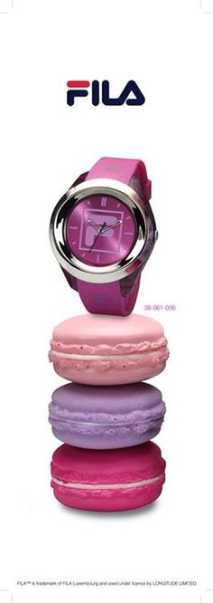 FILA by Elora Blush, Watches, Beauty, Women, Fashion, Moda, Wristwatches, Fashion Styles, Rouge