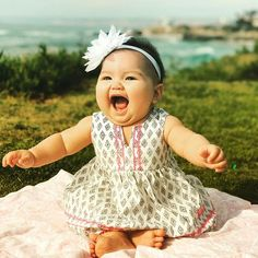 This picture pretty much sums up how happy my little girl is all the time. Happy 6 months, baby girl. A lot of things happen within 6 months including tripling your birth weight, ady the fatty. #lajolla #babygirl #viccaitplus1 #babychunks #lajollalocals #sandiegoconnection #sdlocals - posted by Victor Asuncion  https://www.instagram.com/vjasuncion. See more post on La Jolla at http://LaJollaLocals.com