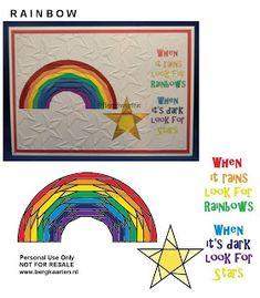 Irisvouwen: Rainbow