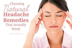 Natural Headache Remedies That Work