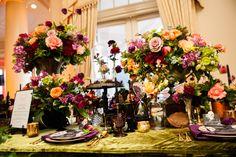 Elegant Halloween Wedding Inspiration | Michelle Lacson Photography | Kristeen LaBrot Events