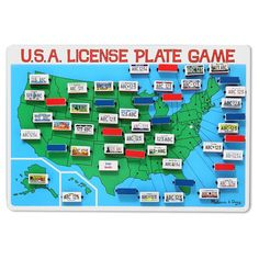 USA License Plate Game, Board Games