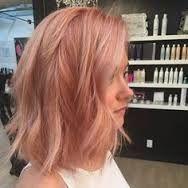 Image result for grey rose gold hair