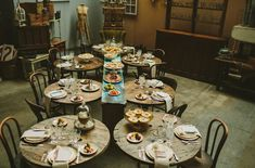 Love the vintage feel of this bridal shower table...so rustic! From http://greenweddingshoes.com/warehouse-bridal-shower/  Photo Credit: http://jillianmcgrath.com/  Styling by http://maggpievintagerentals.com/