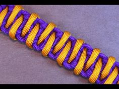 "How to Make the ""Advanced Solomon"" Paracord Survival Bracelet - BoredParacord - YouTube"