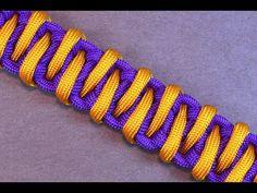 "How to Make the ""Advanced Solomon"" Paracord Survival Bracelet - BoredParacord - YouTube"