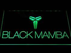 Los Angeles Lakers Kobe Bryant Black Mamba Logo LED Neon Sign