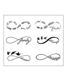 Another great find on #zulily! Sweet Nothings Tattoos - Set of Two by Tattify #zulilyfinds