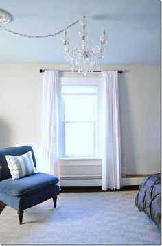 White muslin curtains - authentic victorian style: Possibly the Cheapest Extra-Wide Curtains Ever diy