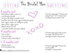 #tfgbridalplan Bridal bootcamp! What to eat, what to do! Bridal workout.