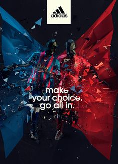 Adidas by Sebastian Onufszak, via Behance