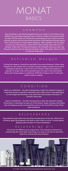 MONAT is anti-aging hair care products! There is something for everyone and works with all hair types.