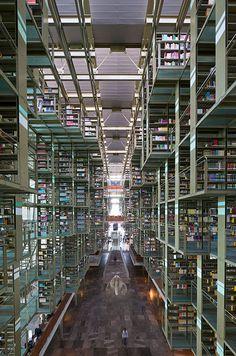 Biblioteca Jose Vasconcelos, Mexico DF