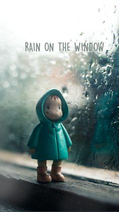 Rainy Window, Rain Photography, Coincidences, Rain Drops, Serendipity, Cool Artwork, Teddy Bear, Cozy, Windows