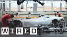 70 Years of Ferrari: How Craftsmen and High-Tech Robots Build the World'...