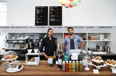 Making captive restaurants/venues better: New Museum cafe collaborated w/ Hester Street Fair to  serve rotating gourmet menu inspired by the Saturday market in NYC.