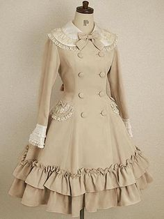This is such a cute winter dress with pockets!