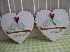 I like these little birdies and want to incorporate them some how for the wedding