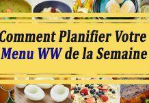 Comment Planifier Votre Menu WW de la Semaine Menu Ww, Weigth Watchers, Best Butter, Detox, The Cure, About Me Blog, Weight Loss, Dune, Food