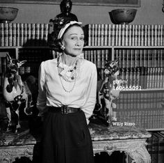 News Photo: Coco Chanel Presents Her Beauty Tips Book A…