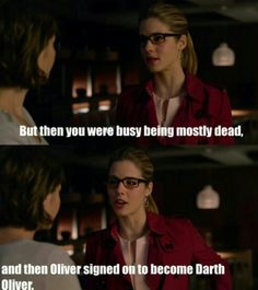 "#Arrow 3x21 ""Al Sah-him"" - Thea and Felicity"