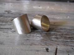wide modern ring wide ring tapered by hellothula on Etsy, $66.00