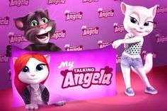 Hi guys! Be the first to play the brand new My Talking Angela app! It's amazing! Download it here: http://tai-talking-tom.mobi