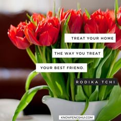 Treat your home the way you treat your best friend. Learn about feng shui on knowfengshui.com Feng Shui Quotes, Feng Shui Tips, How To Feng Shui Your Home, Feng Shui House, My Workspace, Love Your Home, Life Inspiration, Treat Yourself, Beach Day
