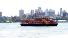 No more beautiful way to get to Pier 11 than by cruise! You can even see the iconic Sight & Sound, City Streets, All Over The World, Statue Of Liberty, New York City, Cruise, Nyc, Explore, Places