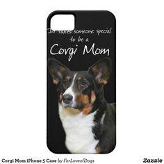 Corgi Mom iPhone 5 Case