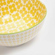 Imagen 3 del producto Ensaladera porcelana flores