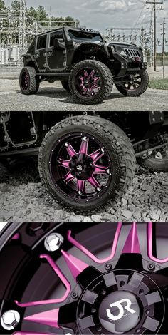 """""""Warrior"""" Jeep Wrangler on RTX Gloss Black Custom Wheels You are in the right place about Jeeps blanco Here we offer you the most beau"""