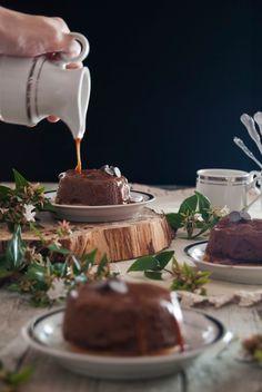La asaltante de dulces: Receta de falsos flanes de chocolate, galleta y caramelo/ No bake chocolate, cookies & caramel little cakes. Enjoy it!