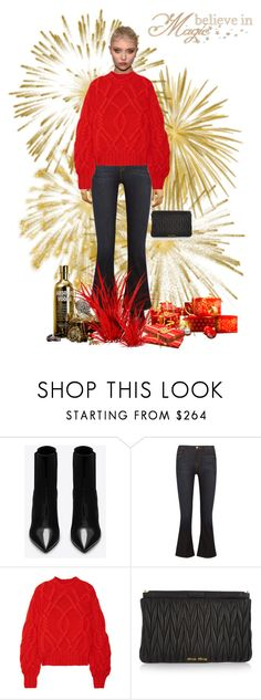 """""""Magic"""" by mariaangeles-g ❤ liked on Polyvore featuring Yves Saint Laurent, Frame, Ulla Johnson and Miu Miu"""